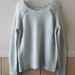 Sleeping on snow scoop neck sweater size small